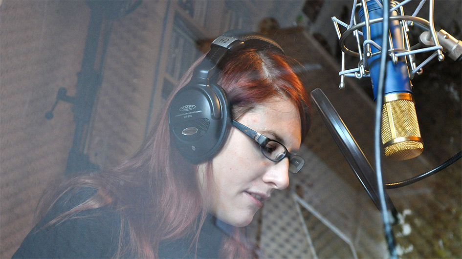 Jana Volkmann @ Silbenstreif Studio