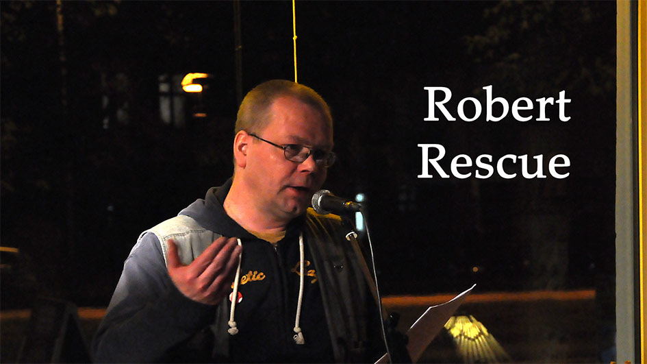 Moabit liest: Robert Rescue