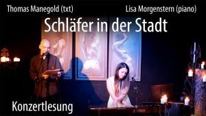 "Lisa Morgenstern & Thomas Manegold ""Schläfer in der Stadt @ Kon 71 Nürnberg | Nürnberg | Bayern | Deutschland"