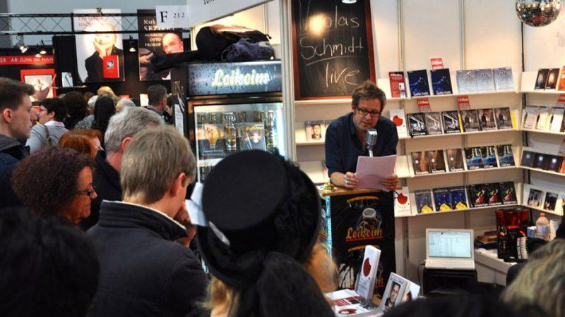 Der Herr Schmied auf der Buchmesse 2014