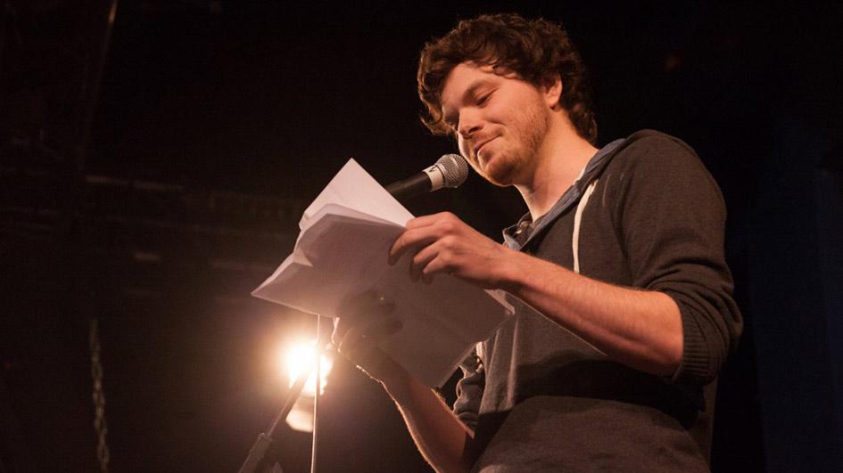 Nils Frenzel live bei Wortgefecht