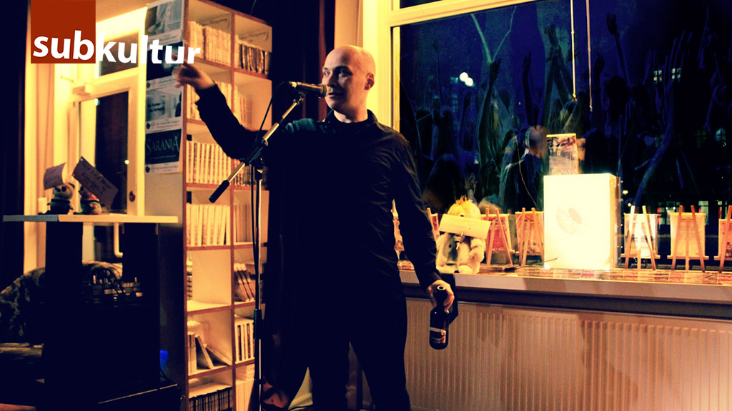 Thomas Manegold bei der Langen Nacht der Subkultur