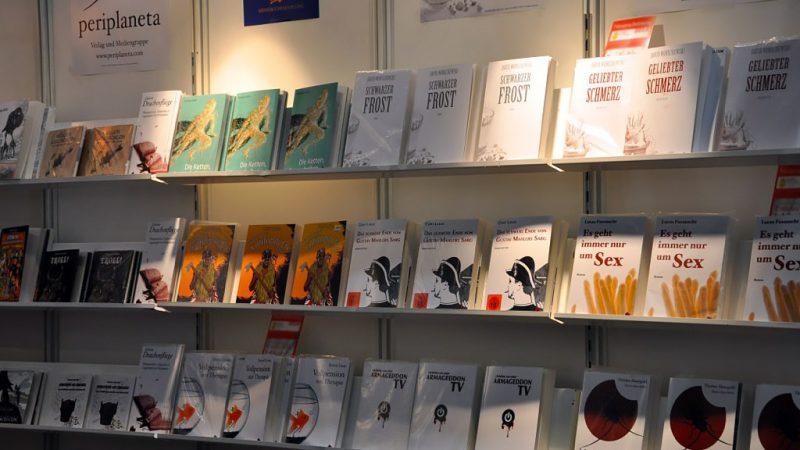 Periplaneta auf der Buchmesse