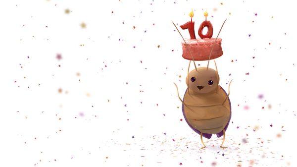 Periplaneta wird 10!