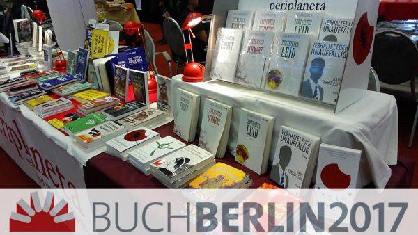 Periplaneta auf der Buch Berlin 2017
