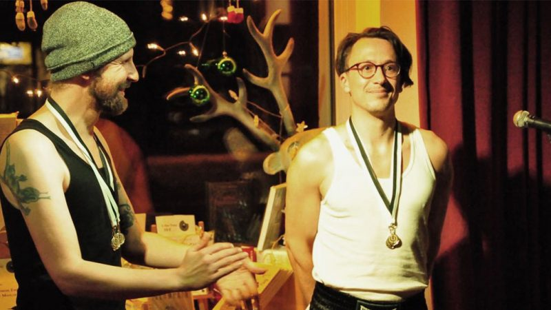 Bastian Mayerhofer, Laander Karuso, Kleinkunst Triathlon (c) Periplaneta
