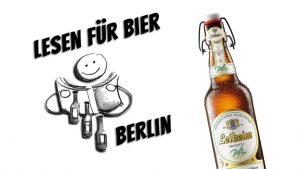 """Robert Rescue + Volker Surmann @ """"Lesen für Bier"""" @ Periplaneta Literaturcafé Berlin"""