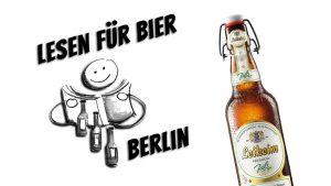 "Robert Rescue + Clint Lukas @ ""Lesen für Bier"" @ Periplaneta Literaturcafé Berlin"