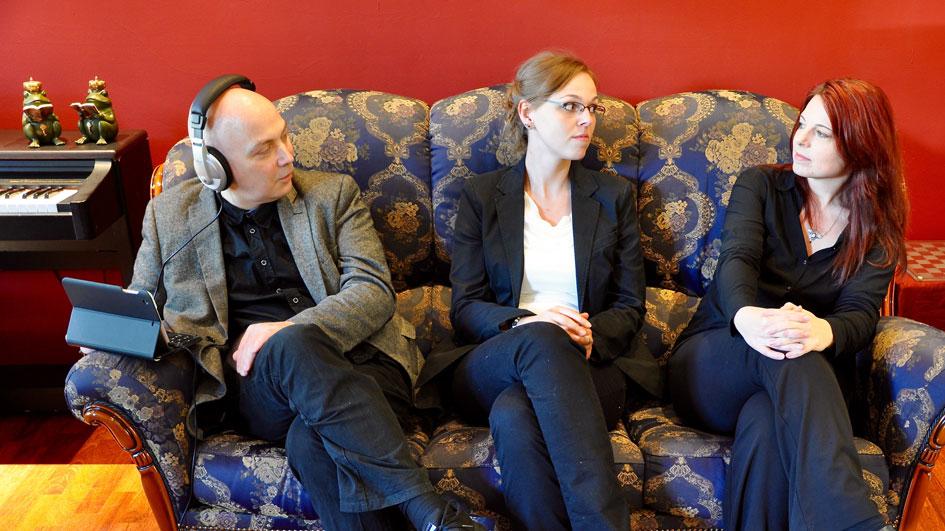 Thomas Manegold, Marion Alexa Müller, Sarah Strehle