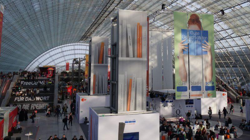Glashalle der Leipziger Buchmesse 2018