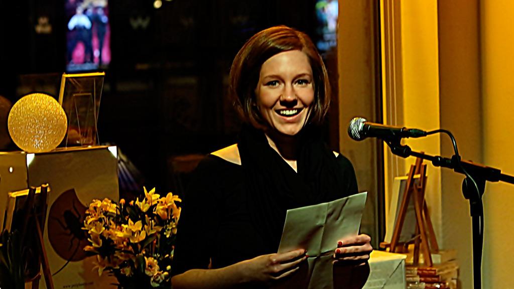 Die Berliner Autorin Maschenka Tobe