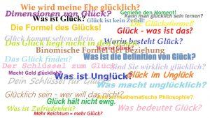 Vortrag & Diskussion: Was ist Glück? @ Periplaneta Literaturcafé Berlin | Berlin | Berlin | Deutschland