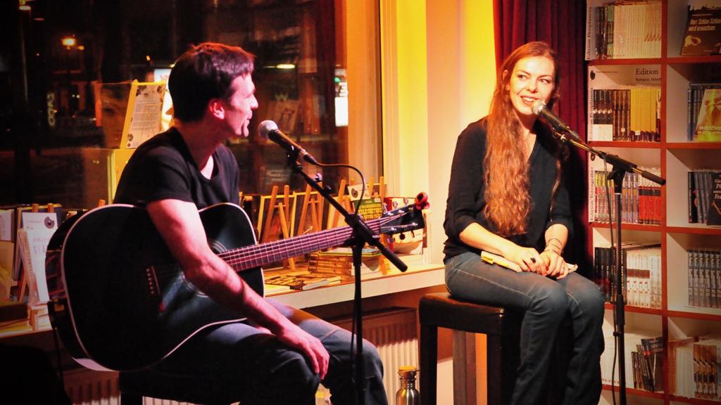 Christoph Theussl und Lea Streisand (c) Periplaneta