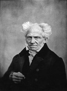 Arthur Schopenhauer by J. Schäfer 1859
