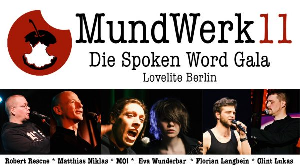 MundWerk 11 Spoken Word Gala Berlin