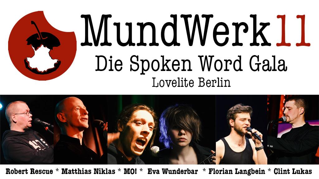 MundWerk 11 Spoken Word Gala Berlin