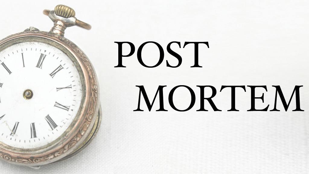 Post Mortem von Martin Riemer