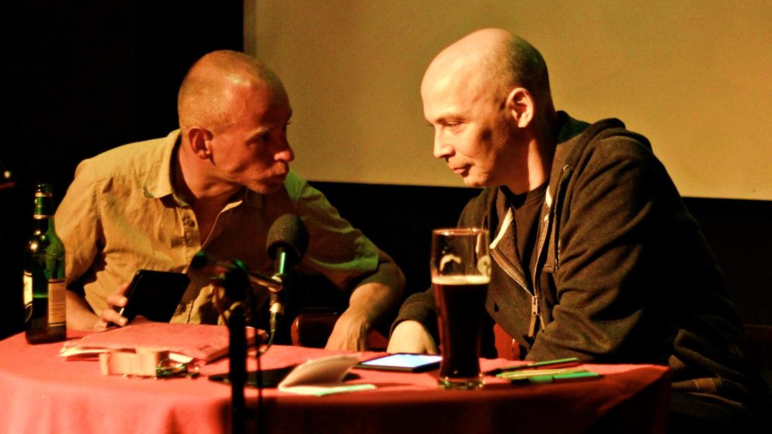 Matthias Niklas und Thomas Manegold bei Ohne Wenn Und Laber in der Z-Bar Berlin.