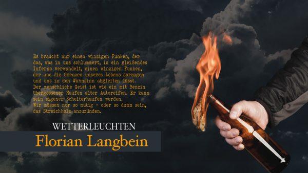 Wetterleuchten Florian Langbein