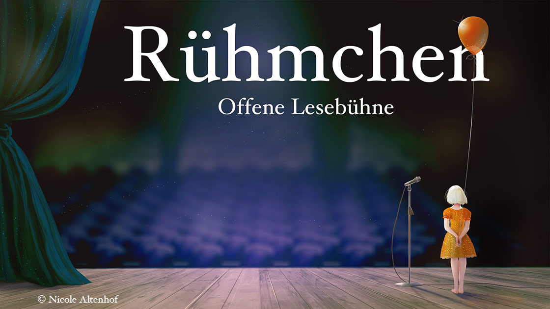 Rühmchen - Offene Bühne bei Periplaneta (c) Nicole Altenhoff